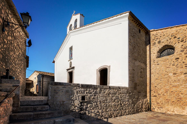 The Church of Sant'Anna in Pietrelcina