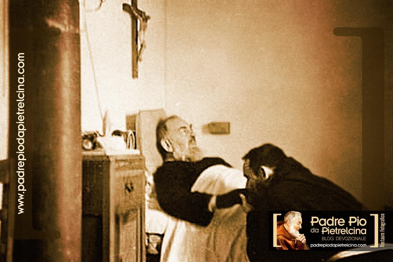 The final night before Padre Pio passed - Padre Pio's last day.