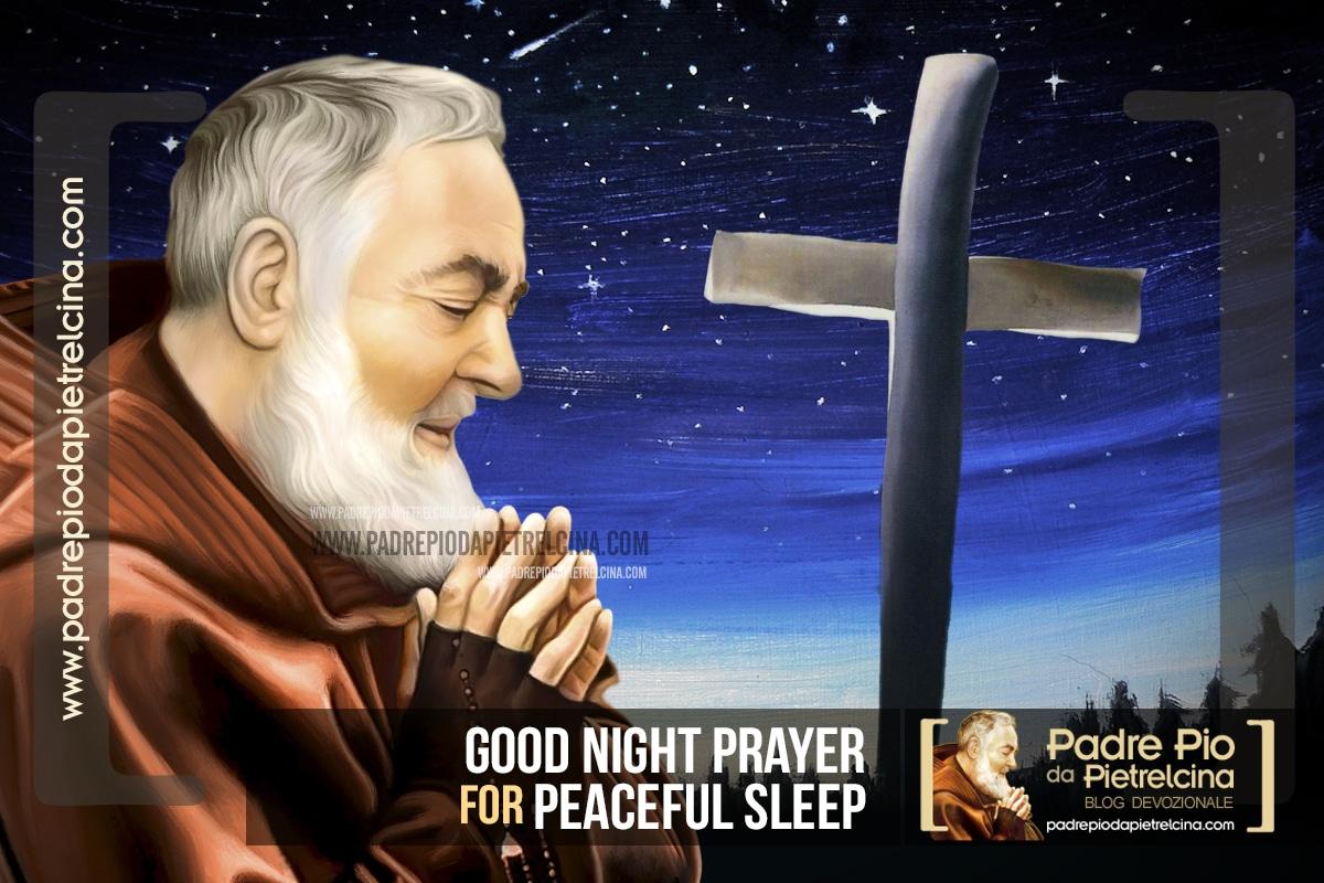 Good Night Prayer to Padre Pio | Bedtime Prayer for Peaceful Sleep
