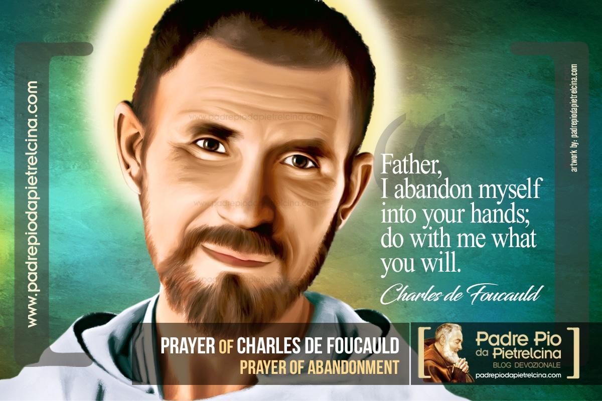 Charles de Foucauld Prayer of Abandonment