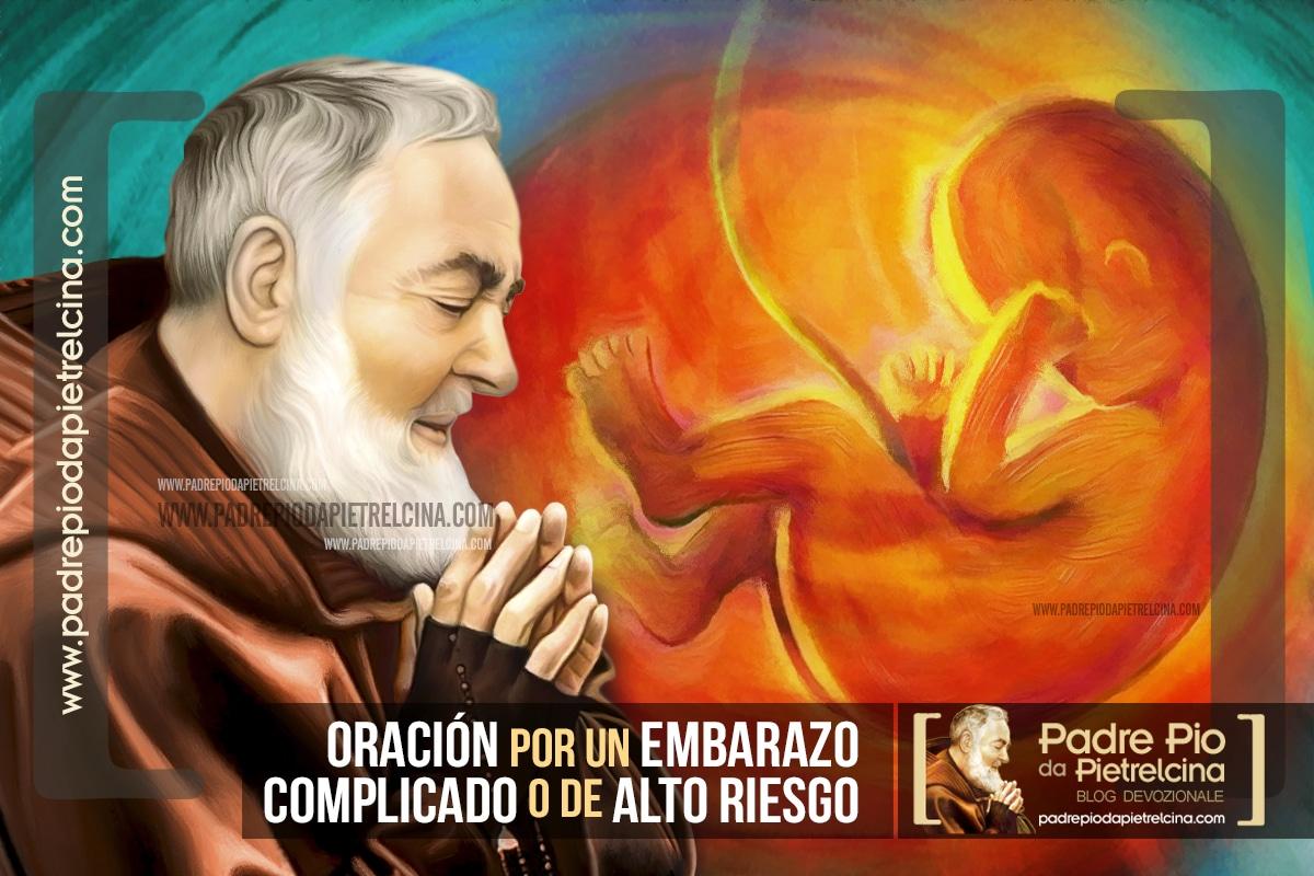 Oración al Padre Pío por un Embarazo complicado o de Alto riesgo