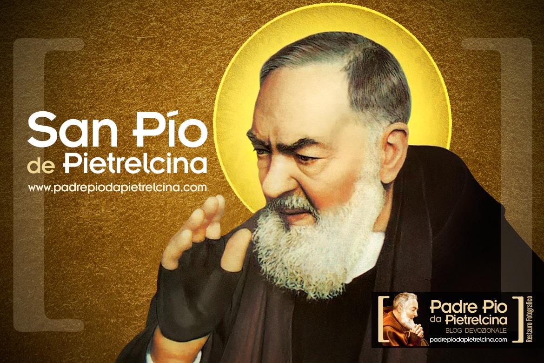 San padre Pío de Pietrelcina