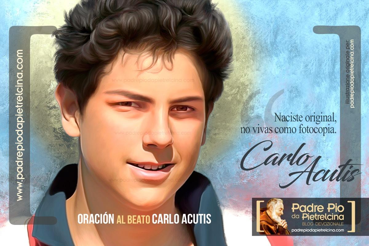 Oración al Beato Carlo Acutis para pedir Gracias y Favores