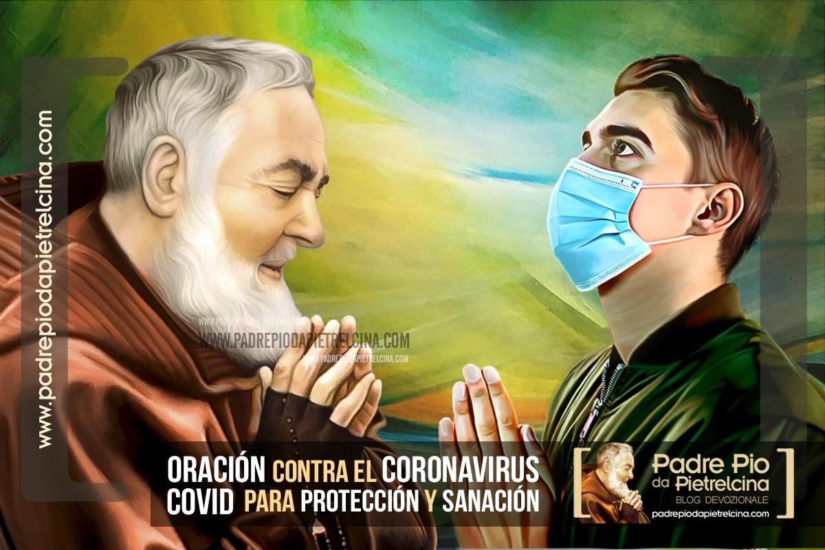 Oración contra el Coronavirus (covid 19) para Protección y Sanación al Padre Pío