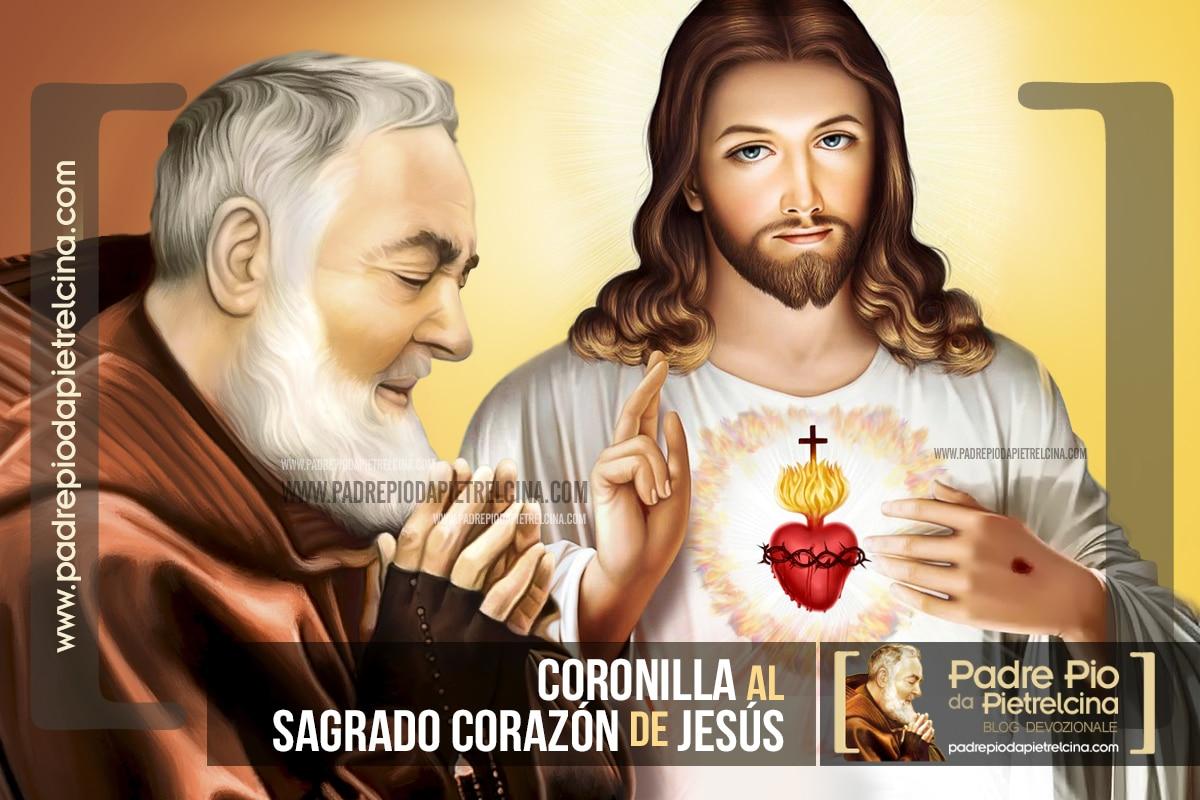 Coronilla al Sagrado Corazón de Jesús del Padre Pío