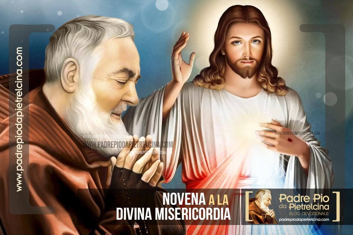 Novena a la Divina Misericordia del Padre Pío