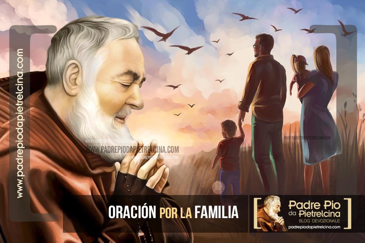 Oración por la Familia al Padre Pío por la unidad y protección