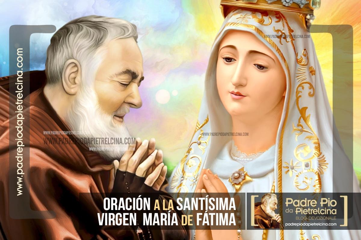 Oración a la Virgen de Fátima - Oración de Confianza
