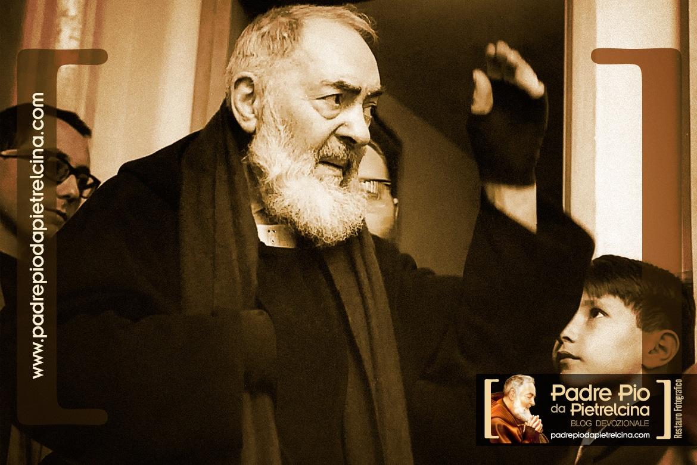 La bilocation de Padre Pio de Pietrelcina