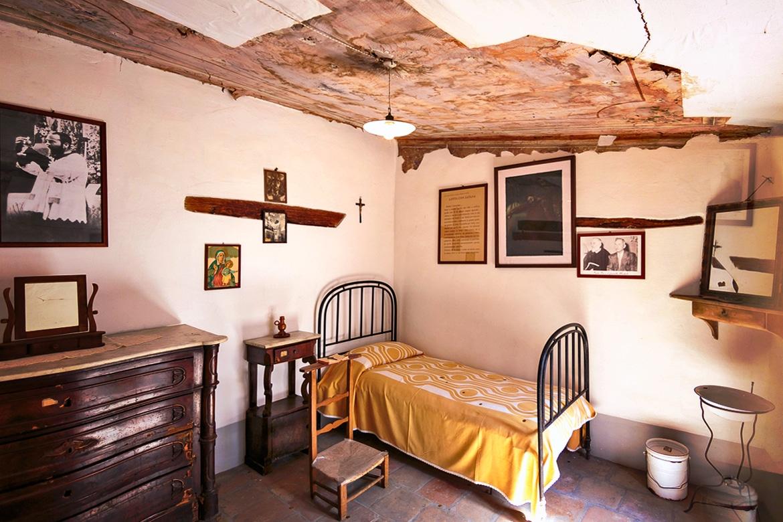 La maison de Padre Pio à Via Santa Maria degli Angeli à Pietrelcina