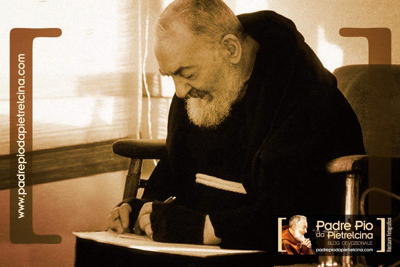 Les lettres de Padre Pio ou l'épistolaire de Padre Pio de Pietrelcina