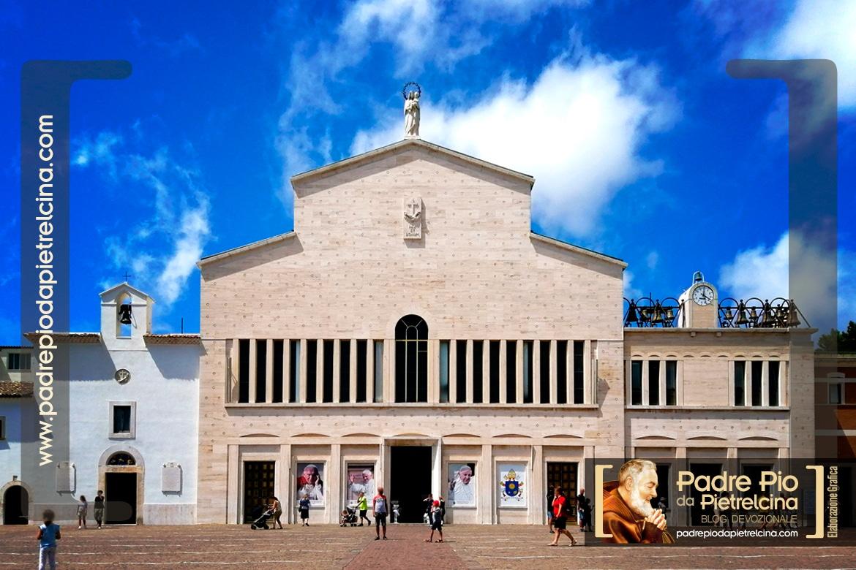 L'église de Padre Pio et le couvent de San Giovanni Rotondo, Italie