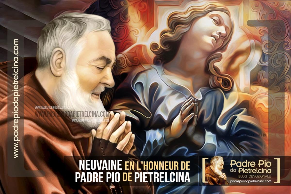 Neuvaine en l'honneur de Padre Pio de Pietrelcina