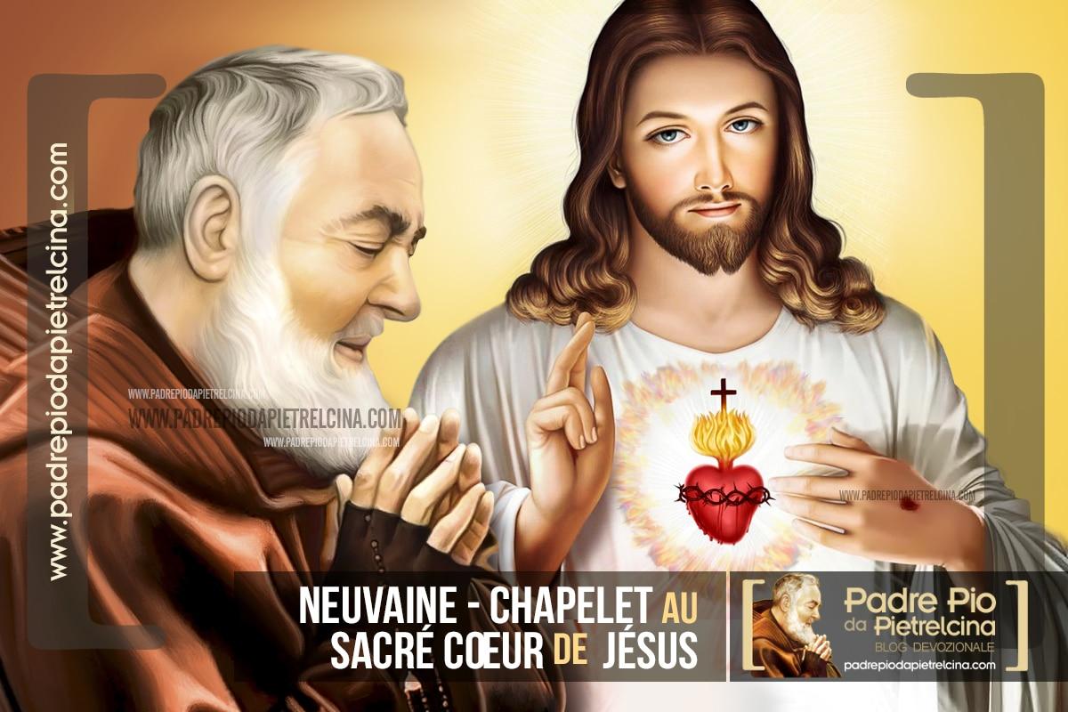 Chapelet au Sacré Cœur de Jésus que récitait Padre Pio