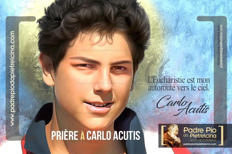 Prière à Carlo Acutis pour lui demander une Grâce