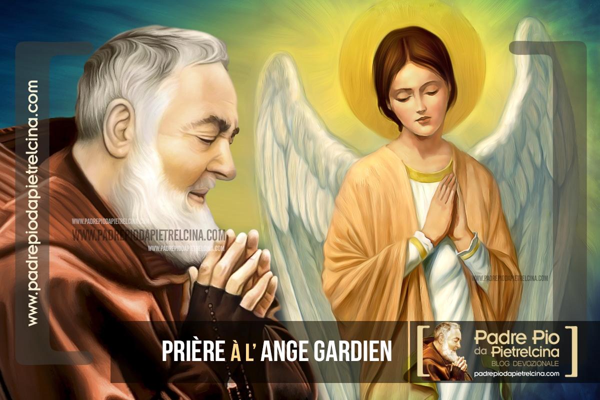 Prière à l'Ange Gardien que Padre Pio récitait