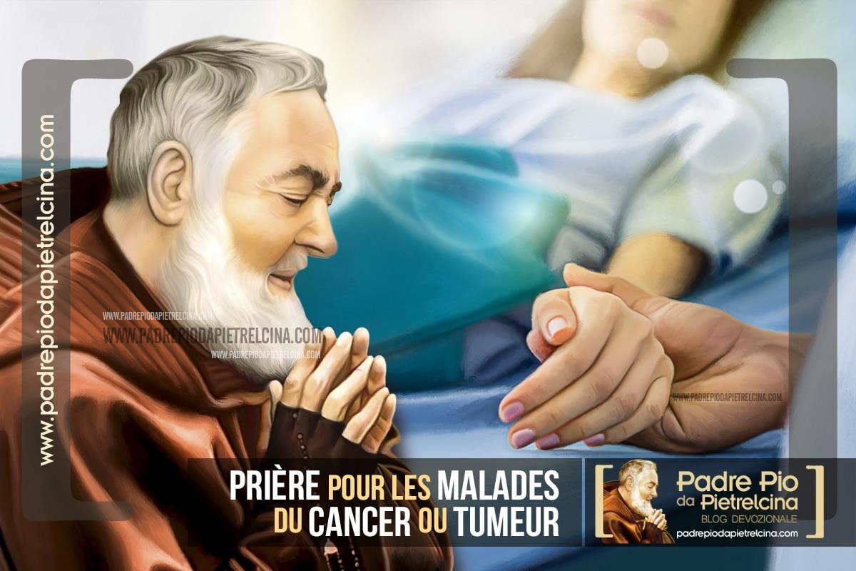 Prière pour combattre le Cancer ou une Tumeur à Padre Pio