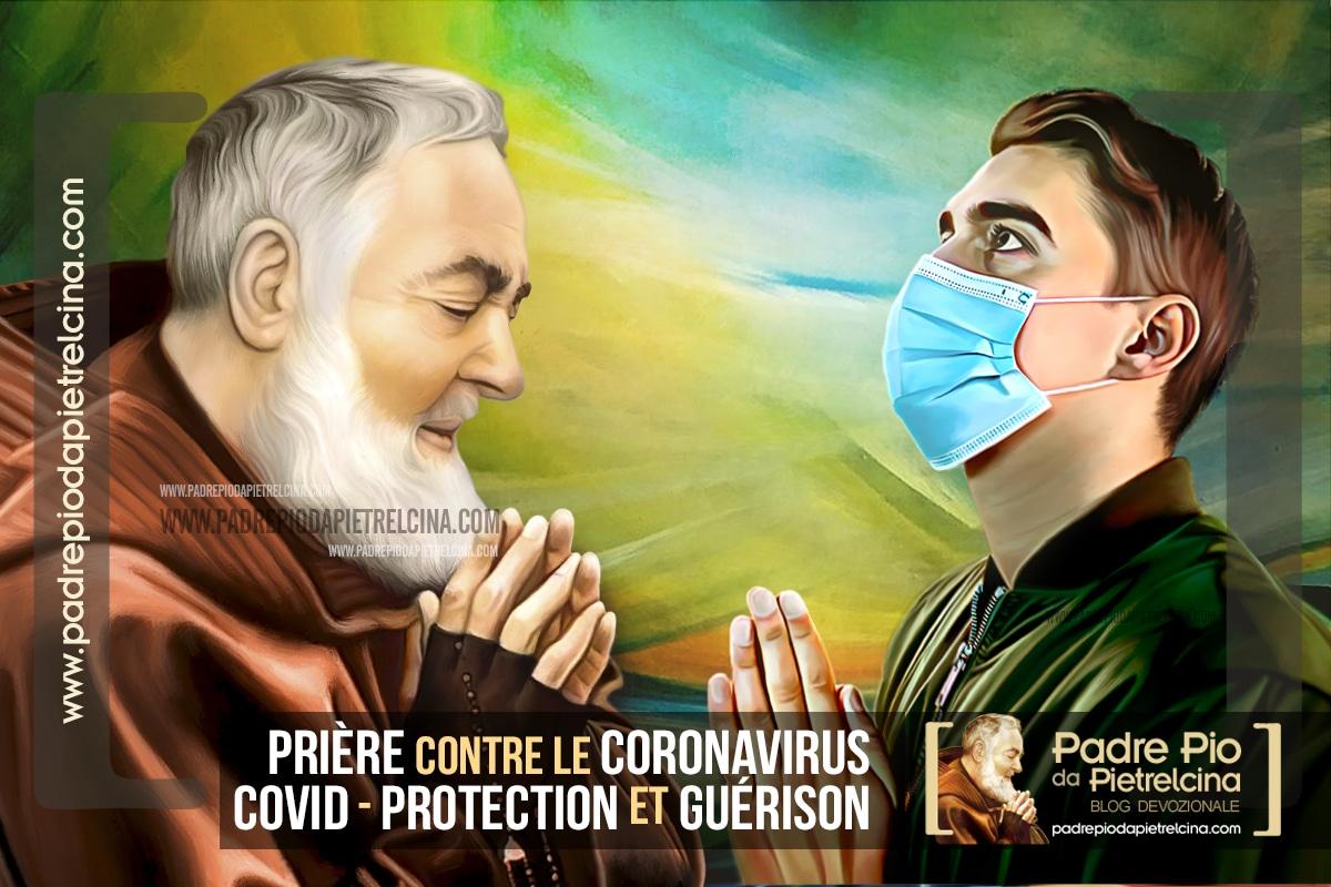 Prière contre la Covid 19 (coronavirus) à St Padre Pio