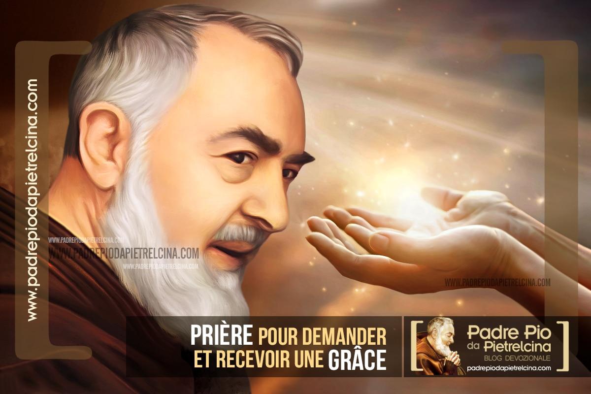 Prière à Padre Pio pour demander une Grâce Spéciale