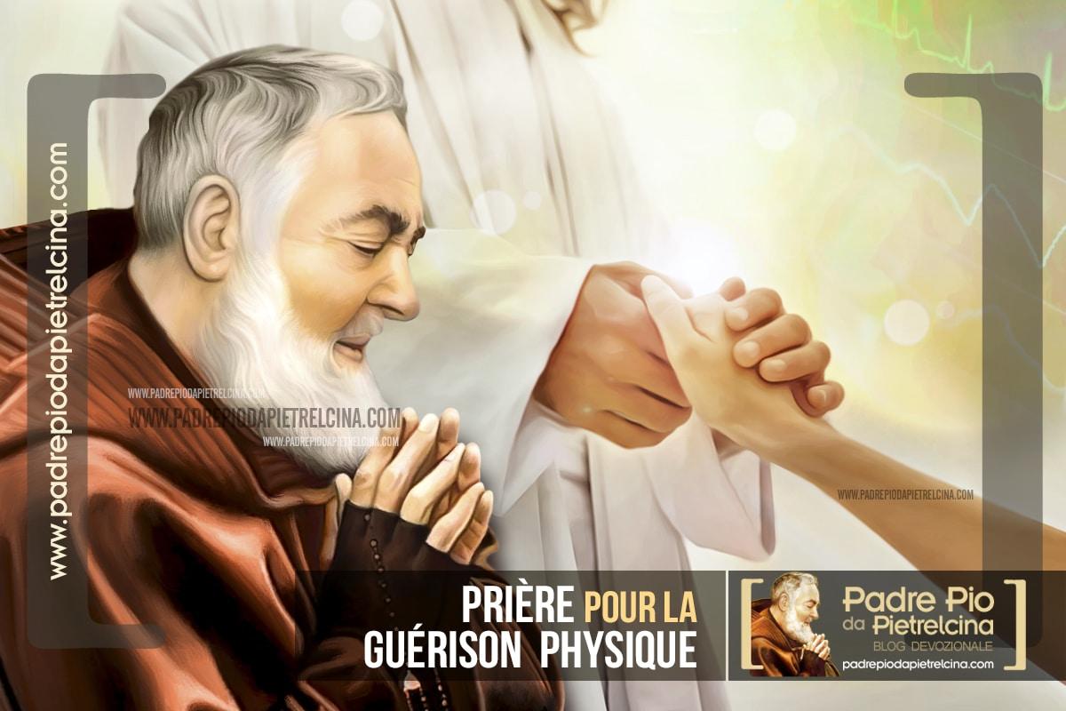 Prière à Padre Pio pour la Guérison Physique d'un Être Cher