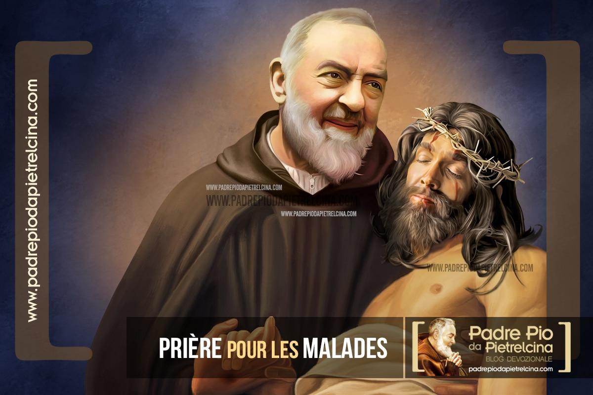 Prière à Padre Pio pour les Malades et les Infirmes