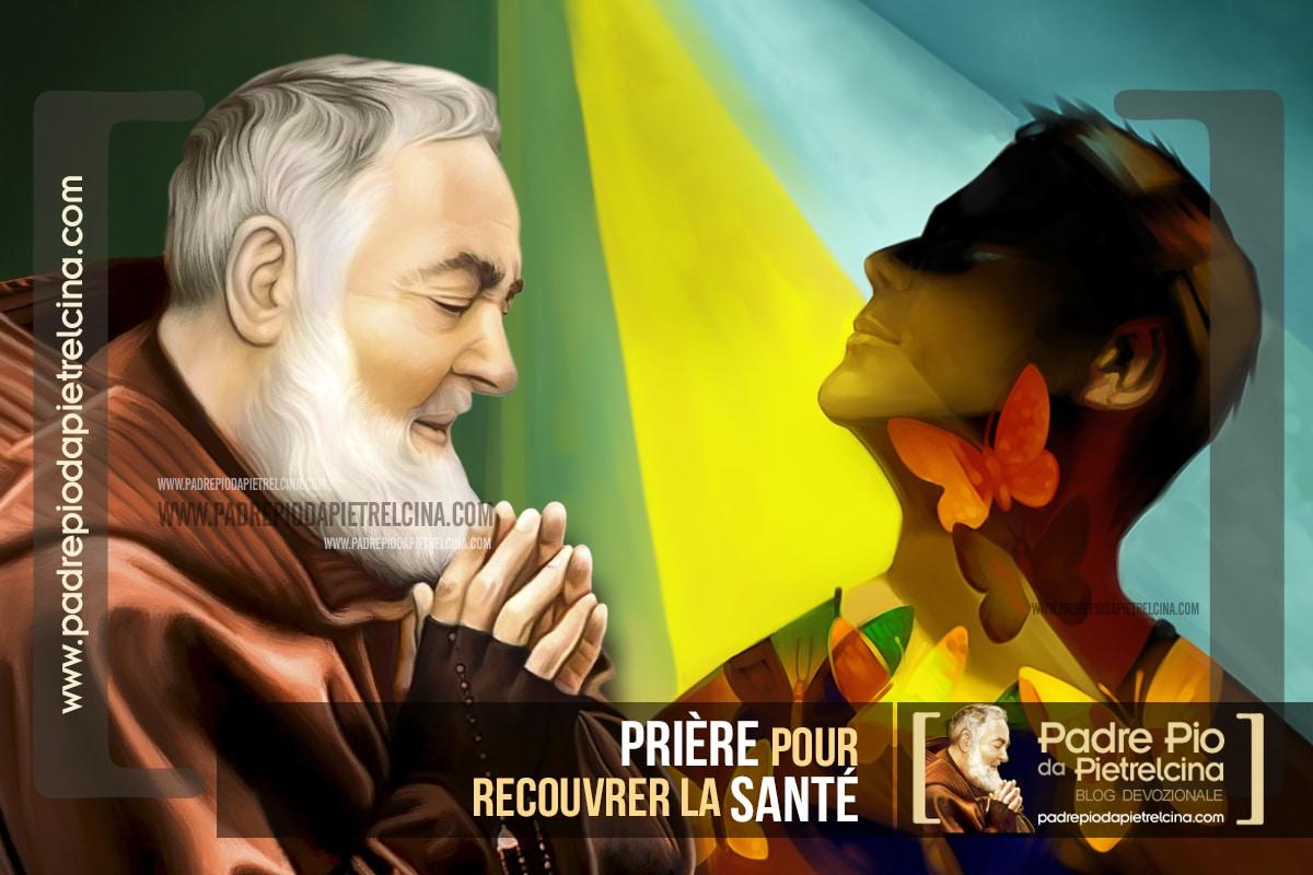 Prière pour soulager les Problèmes de Santé à Padre Pio