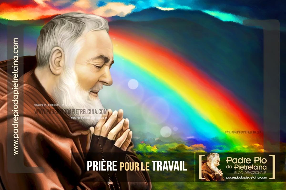 Prière pour le Travail ou un pour Emploi à Padre Pio