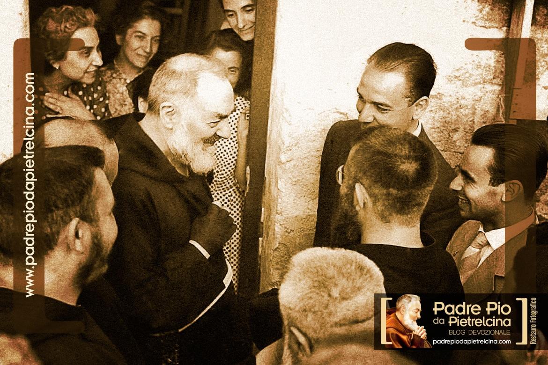 Padre Pio un uomo come noi