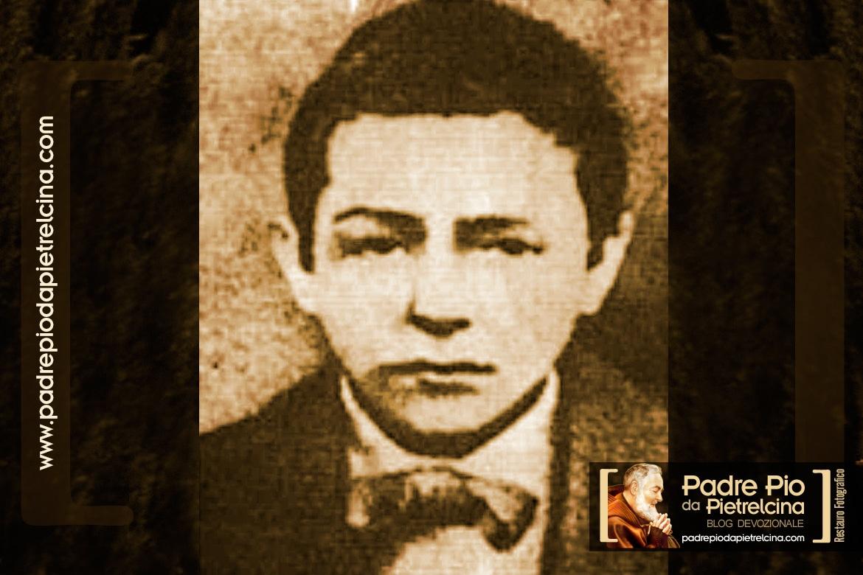 Padre Pio da Bambino. Immagine rara di Padre Pio