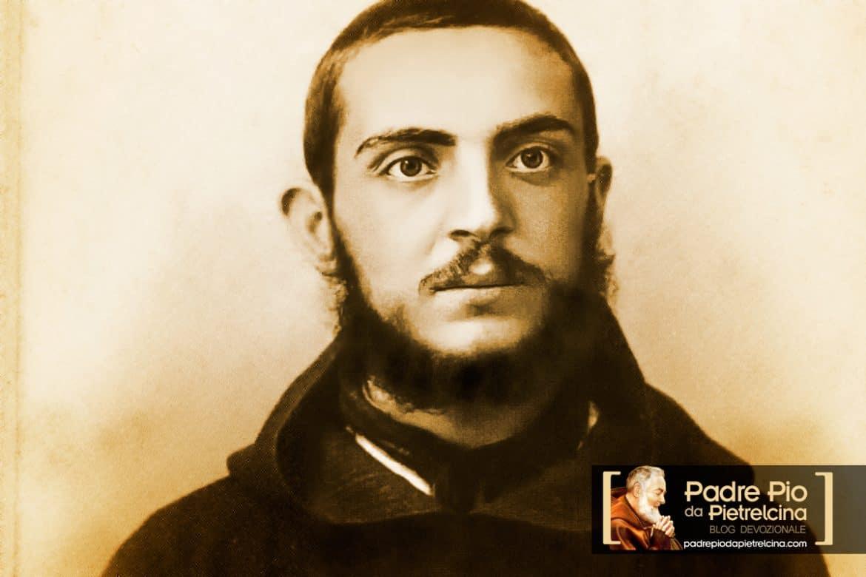 Padre Pio giovane novizio