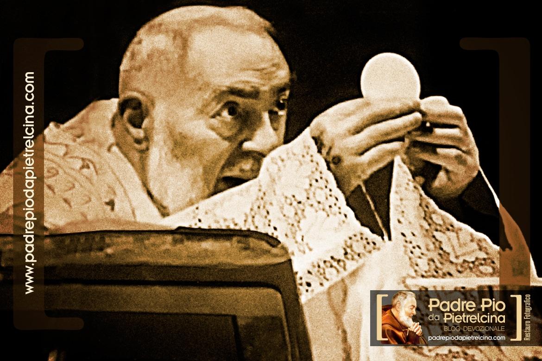 L'ultima messa di Padre Pio era il 50°Anniversario delle Stimmate
