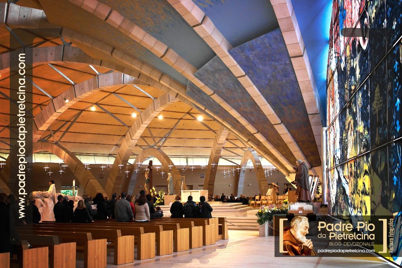 Santuario di San Pio a San Giovanni Rotondo | Aula Liturgica