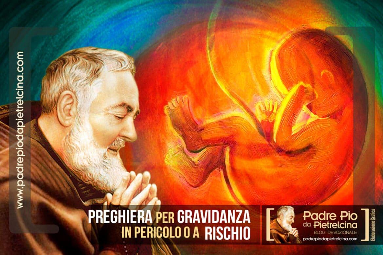 Preghiera a Padre Pio per gravidanza a rischio o complicata