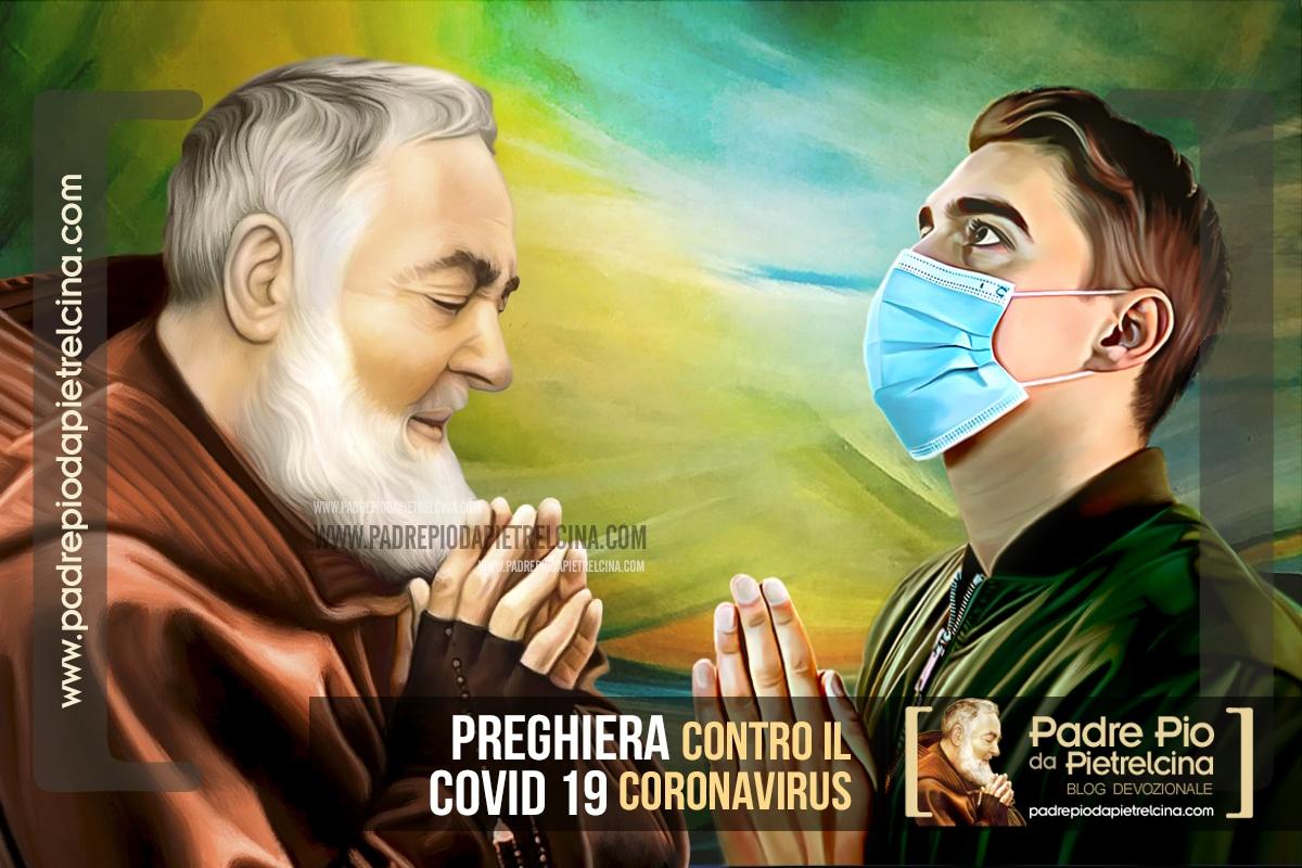 Preghiera contro pandemia Covid (coronavirus) a Padre Pio