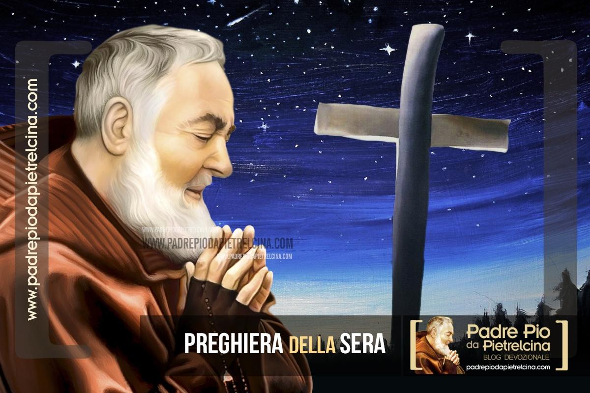 Preghiera della Sera o della notte a Padre Pio