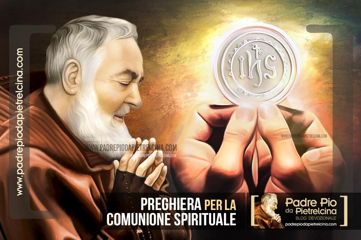 Preghiera per la Comunione Spirituale