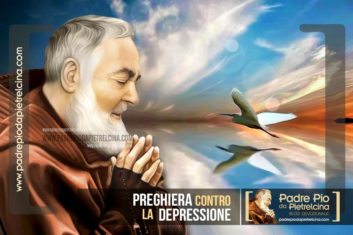 Preghiera a Padre Pio contro la Depressione e i Pensieri Negativi