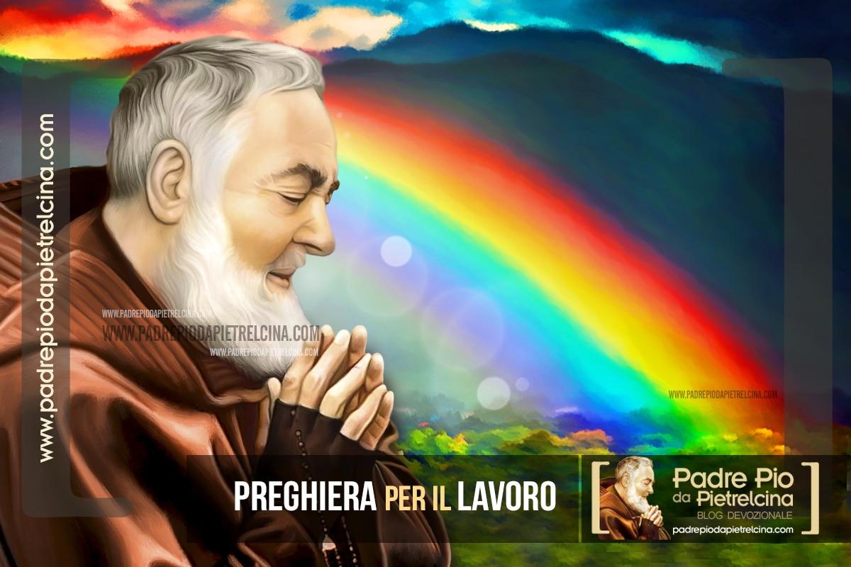Preghiera a Padre Pio per trovare un Lavoro o un Impiego